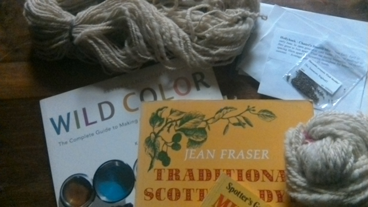 Natural dye books